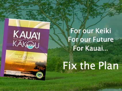 Fix the Kauai General Plan