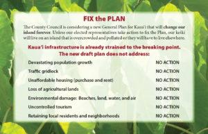 Fix the Kauai General Plan Highlights